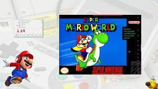Super Mario World (1990) | SPC Soundtrack (Complete SNES OST)