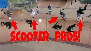 SCOOTER RIDING WITH THE PROS! (JAMIE HULL / JORDAN ROBLES)