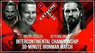 DOLPH ZIGGLER VS SETH ROLLINS - WWE EXTREME RULES 2018 OFFICIAL MATCH CARD (1080P)