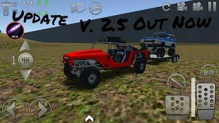 Offroad Outlaws V2.5 *NEW Update* Trailers, Map Maker, and More. #HappyBirthdayOffroadOutlaws
