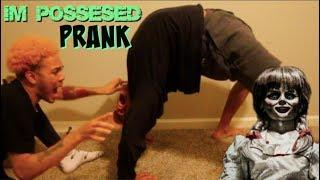 I'M POSSESSED PRANK (HE ALMOST PASSED OUT)