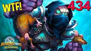 Hearthstone Daily WTF Funny Moments 434! Lucky and Epic Plays!