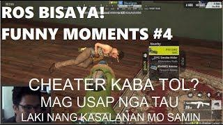 ROS! FUNNY MOMENTS #4 CHEATER KA? ROS BISAYA! w/ TAGALOG!