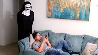 """THE NUN' PRANK ON FIANCE!!!"