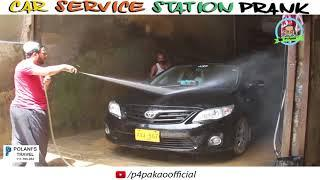 | Car Service Station Prank | By Nadir Ali & Asim Sanata In | P4 Pakao | 2018