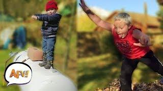 Funny Fails Compilation - Fall Into Fall | AFV Funniest Fails 2018