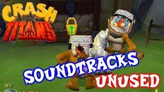 CRASH OF THE TITANS ( NDS ) - COMPLETE SOUNDTRACKS