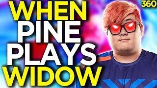 Why Pine is the BEST Widow in the WORLD - Overwatch Funny Moments 360