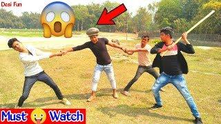 Must Watch New Funny????????Comedy Video 2019 || Episode 63 || Try ✔️Not To Laugh by Desi Fun | Desi
