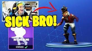NINJA REACTS to DRAKE'S HOTLINE BLING EMOTE in FORTNITE!! Fortnite Funny Fails and WTF Moments! #11