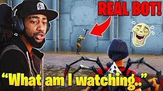 Daequan CONFUSED after finding FUNNIEST Noob Ever! (Hilarious) - Fortnite Funny and WTF Moments