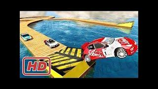 GT Racing Turbo Stunts - Lvl 1 to 10 Android Gameplay HD - Extreme Sports Cars Racing Games For Kids