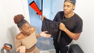 ANOTHER GUY'S BOXERS PRANK ON BOYFRIEND!!