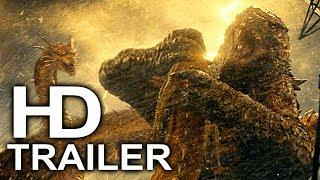 GODZILLA 2 Godzilla Chokeslam King Ghidorah Trailer NEW (2019) King Of The Monsters Action Movie HD