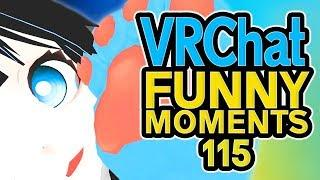 VRCHAT Daily Funny Moments Ep 115! - Epic Highlights