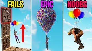 NEW BALLOON FAILS! FAILS vs EPIC vs NOOBS - Fortnite Funny Moments