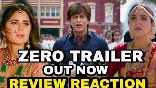 Zero Trailer out now, Zero Trailer Review & Reaction, Zero movie Review, Shahrukh Khan Katrina Kaif