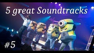 5 great Soundtracks on Piano # 5