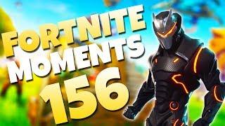 NEW GRAFFITI EMOTE TRICK!! (AMAZING LOW GRAVITY PLAYS) | Fortnite Daily and Funny Moments Ep. 156