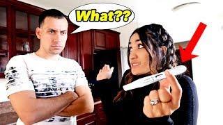 I'm PREGNANT PRANK on  HUSBAND!! *GONE SO WRONG* | Jancy Family