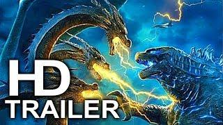 GODZILLA 2 King Ghidorah Is Unleashed Trailer NEW (2019) King Of The Monsters Action Movie HD