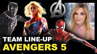 Avengers 5 Team Cast - Beyond The Trailer