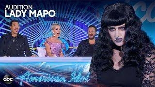 Goth Auditioner Pulls a Prank on the American Idol Judges - American Idol 2019 on ABC