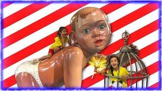 Kids indoor funny Playground for children Johny Johny Yes Papa Nursery Rhymes song