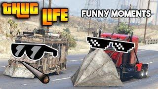 GTA 5 ONLINE : THUG LIFE AND FUNNY MOMENTS (WINS, STUNTS AND FAILS #13)