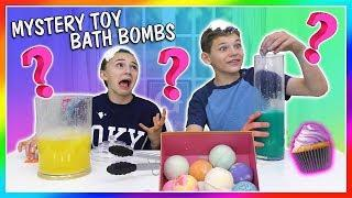 EXTREME MYSTERY TOY BATH BOMB CHALLENGE | WHAT'S INSIDE? | We Are The Davises