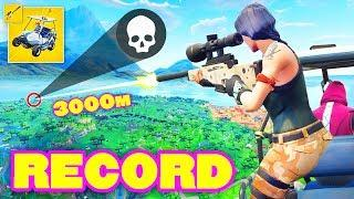 *WORLD RECORD* GOLF KART SNIPER TRICKSHOT! (Fortnite Battle Royale) Epic & Funny Moments #227