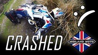 How Not To Review | 2018 Honda CRF1000L Africa Twin Adventure Sports | Off Road Crash