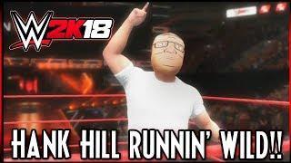 WWE 2K18: Extreme Sumo vs Hank Hill