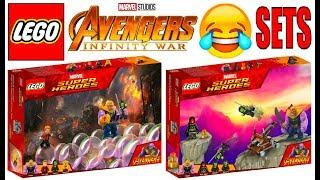 Funny Lego Avengers Infinity War Sets !!! Part 2