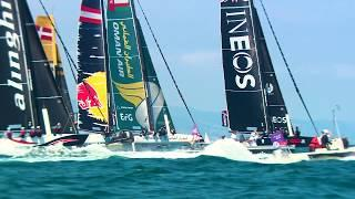 Extreme Sailing Series™ Barcelona - day one best moments
