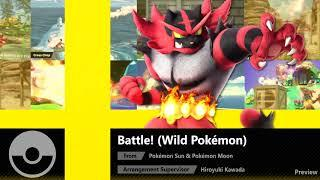 Battle! (Wild Pokémon) (Pokémon Sun & Pokémon Moon) - Super Smash Bros. Ultimate Soundtrack