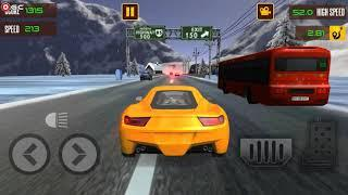 Extreme Highway Traffic Car Endless Racer - Sports Car Games - Android Gameplay FHD