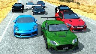 Extreme Police Chases Crashes/Fails #29 - BeamNG Drive Car Crashes