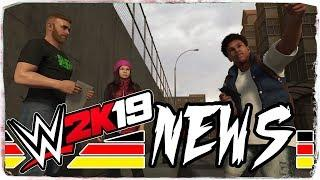 WWE 2K19 OFFICIAL SOUNDTRACK UPDATE - NEW TIRED ANIMATIONS