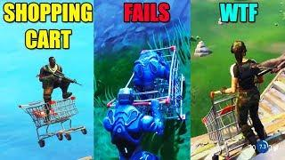 How To Get Cart In Spawn Island Fortnite Funny And Best