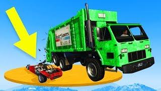 RAMP BUGGY VS TRUCK DEMO DERBY! - GTA 5 Funny Moments