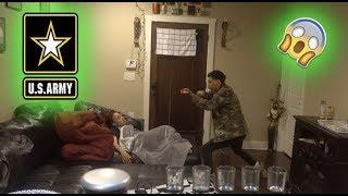 I'M JOINING THE ARMY PRANK! on Girlfriend !!!
