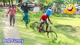 Must Watch Best Funny????????Comedy Videos 2019 - Ep-38_Try not to laugh #FunBoxBD