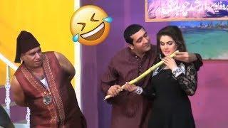 Nasir Chinyoti and Zafri khan best ☺️☺️funny scene New Pakistani Stage drama