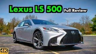 2019 Lexus LS 500 F-Sport: FULL REVIEW + DRIVE | Can Sport and Extreme Luxury Coexist?