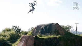 15 YEAR OLD BMXER ROASTS MASSIVE DIRT JUMPS - GUSTAVO DE OLIVEIRA