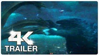 GODZILLA 2 Trailer 2 (4K ULTRA HD) NEW 2019   Godzilla King Of The Monsters
