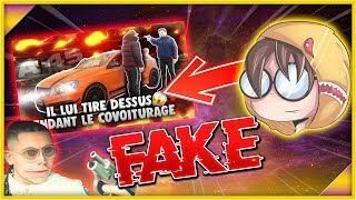 IL LUI TIRE DESSUS EN COVOITURAGE AMG FAKE ?! | RAZMO PRANK FAKE !