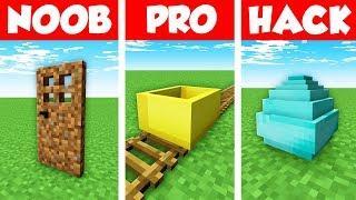 Minecraft NOOB vs PRO vs HACKER : OPPOSITE BLOCK PRANK Challenge in Minecraft Animation