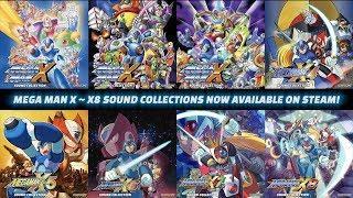 Mega Man X Legacy Collection Soundtrack Trailer